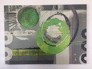 Wandbild grüne Töne