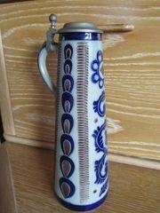 Bierkrüge Weinkrüge mit Zinndeckel Mostkrug