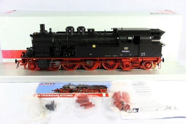 KISS Modellbahnen - Dampflok 078 468-6