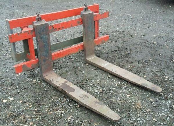 Palettengabel Gabeln Staplergabeln mit Schild passend für MZG 40