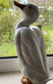 Ente Hutschenreuther Porzellanfigur