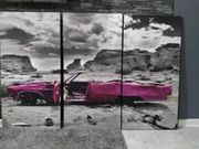 Wandbild Dekoration Bild mehrteilig Auto