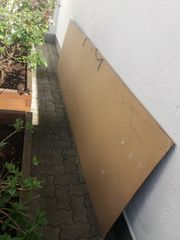 Große Holz Tafel Platte