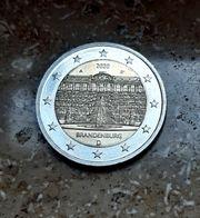 2 - EUR Münze Schloß Sanssouci