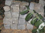 Granitpflastersteine 9 x 9 cm