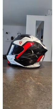 Motorrad Helm Suomy