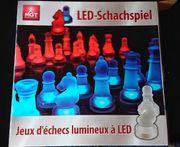 LED Schachspiel mit Induktionsbeleuchtung