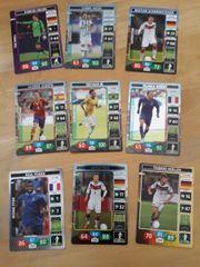 Panini Fußballsammelkarten Brasil 2014