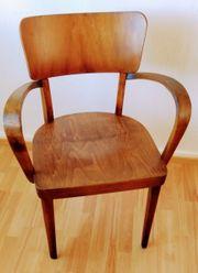 Vollholz -Sessel 40er - Jahre