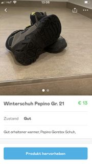 Winterschuh Pepino Gr 21