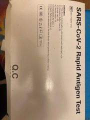 Covid 19 Antigen Schnell Tests