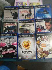 Verschiedene PS2 Spiele je 4