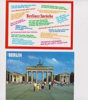 3 verschiedene Ansichtskarten von Berlin