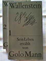 Golo Mann Wallenstein 2 Bände