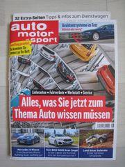 NEU ungelesen Zeitschrift auto motor