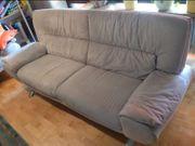 Couch Sofa 3Sitzer beige sehr