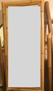 Standspiegel schwenkbar Bambus