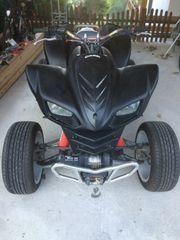 Kawasaki KFX 700 Schneeschild