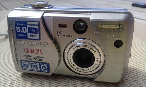 Olympus Camedia C-50 Zoom Digital