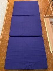 2 Faltmatratzen Gästebetten blau gebraucht