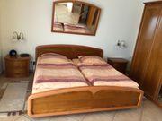 Hochwertiges Kirschbaum-Schlafzimmer sehr gut erhalten