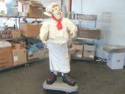 Koch Werbung Koch Werbefigur Figur