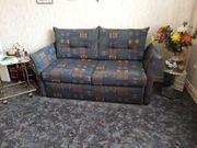 Sofa - Schlafsofa mit Lattenrost und