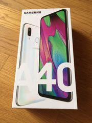 SAMSUNG Galaxy A40 weiß 64