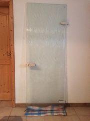 Glastür für den Innenbereich