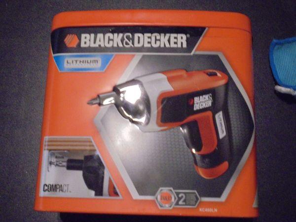 Black und Decker Akkuschrauber