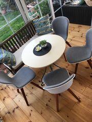 4 Adelaide Designer Stühle von