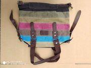 canvas handtasche tragetasche damen tasche