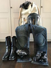 Komplette Harley Davidson Ausrüstung Damen