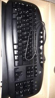 Logitech USB Tastatur und Maus