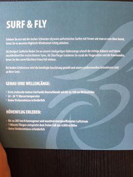 Tickets / Eintrittskarten - Jochen Schweizer Gutschein Surf Fly