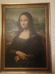 Mona Lisa Handkupferdruck der Firma