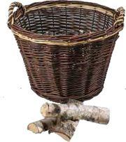 ERIK Runder Brennholzkorb