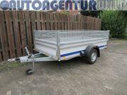 Aluminium Anhänger mit Laubgitter mieten