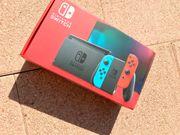 Nintendo Switch Blau Rot Konsole