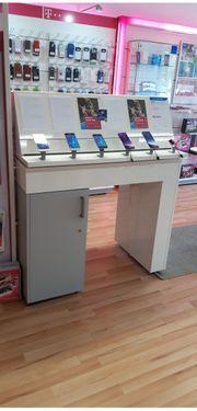 Telekom Handy-Präsentationstisch Sicherung Magnethalterung