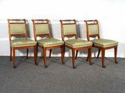 4 Esstischstühle um 1900 Stuhl