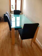 Esstisch 4 Stühle neuwertig hochwertig