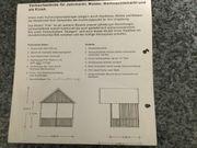 Stabile Holzmarkthütte für Märkte oder