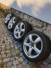 Mercedes Felgen CLS inkl Winterreifen