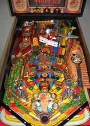 Spielmaschine Indiana Jones Flipper Pinball