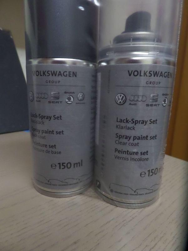 Lackspray Original Audi VW delphingrau