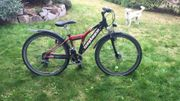 Mountainbike Sundance Adventure schwarz rot
