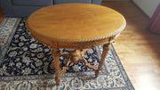 Kleiner ovaler Tisch ca 1900 -