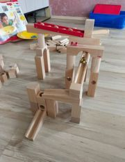 Haba Holz Kugelbahn bestehende aus