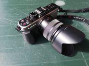 Panasonic GX1 kompakte Systemkamera
